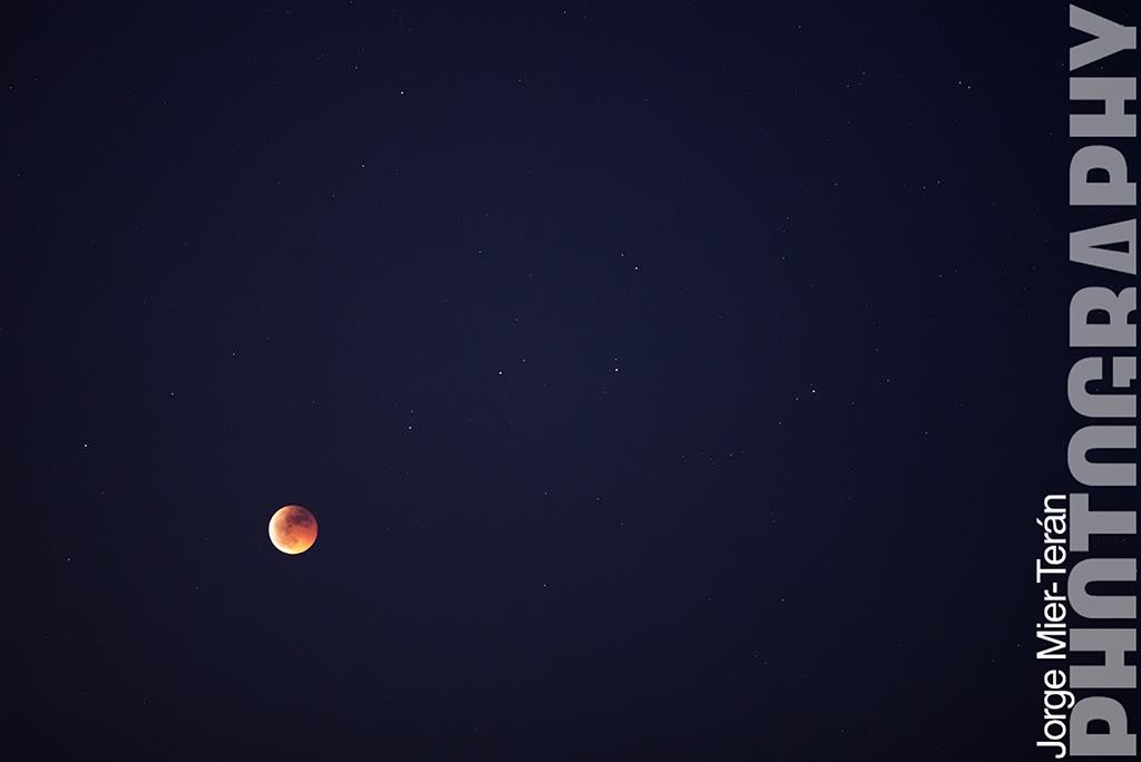 fotografia eclipse luna estrellas malaga