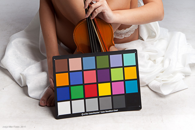 carta color perfil adobe lightroom