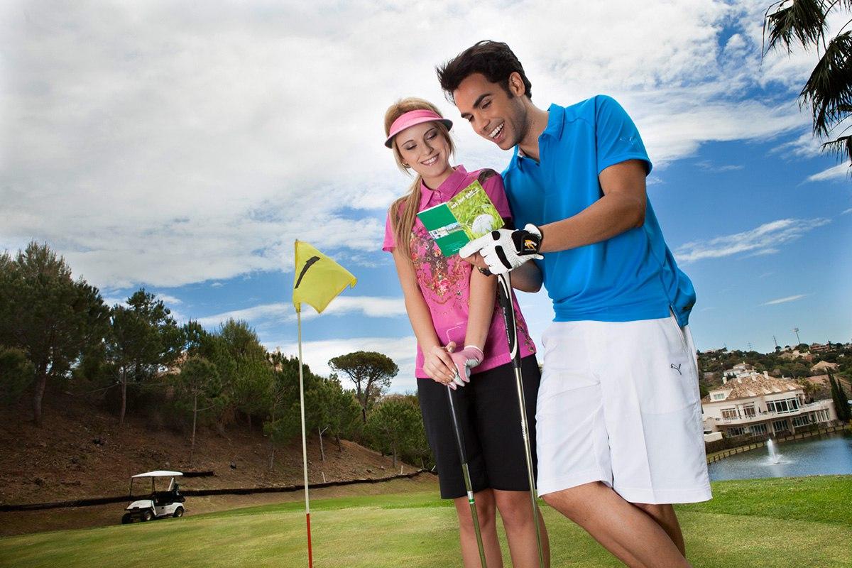 Fotografía publicitaria para campo de golf en Marbella