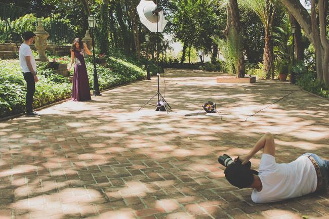 Fotografía Making off sesión catálogo Gargali Antonia Galiano