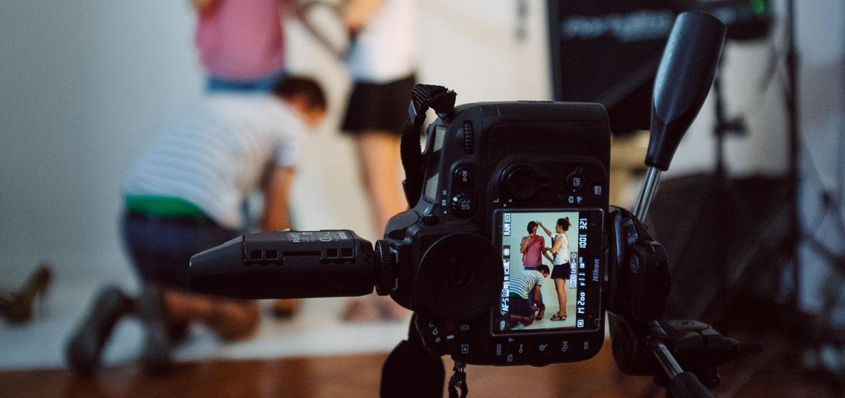 Making of sesion fotografia de moda en estudio mierteran malaga