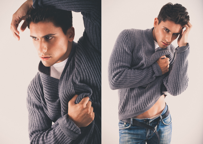 Alberto Pelaez 1 - Book fotográfico para agencia Berta Models Barcelona