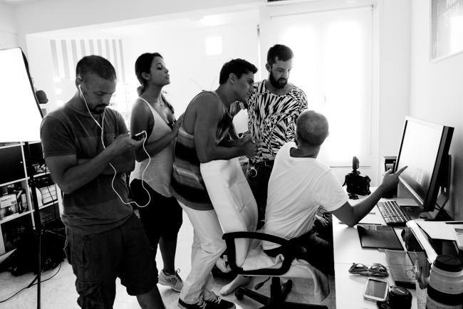 Making of Book Alberto Pelaez para Berta Models