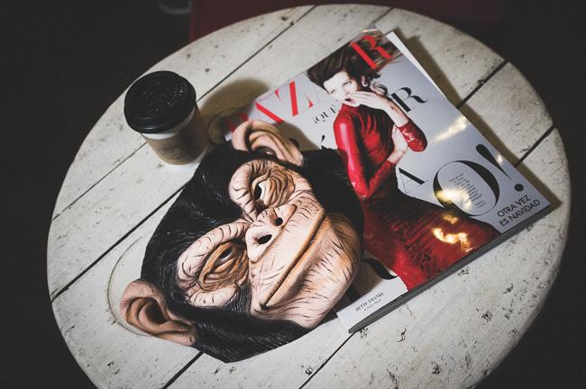 El Último Mono J&C en pijama, fotografía de Jorge Mier-Terán