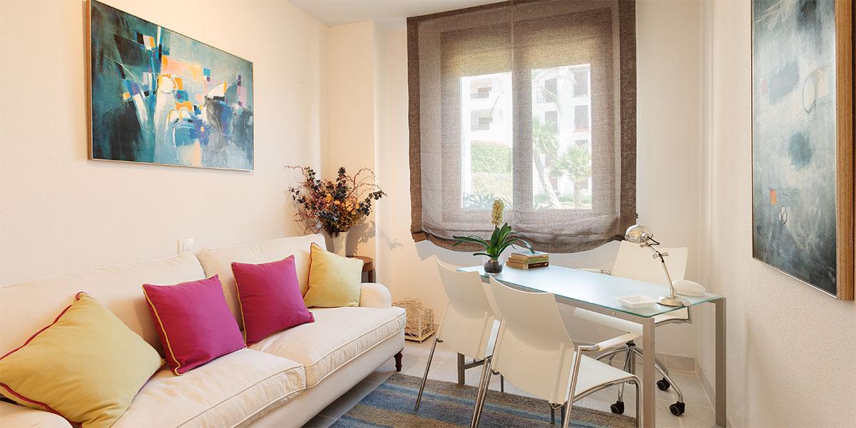 Fotografia de interiores para promocion inmobiliaria en Almería