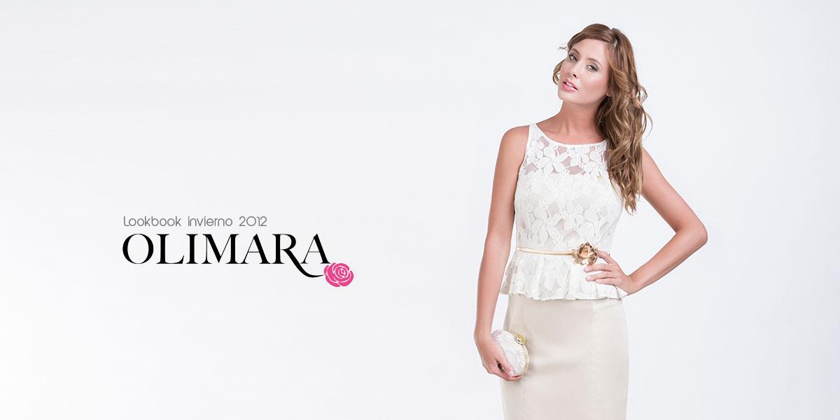 Lookbook fotografia de moda para la firma Olimara