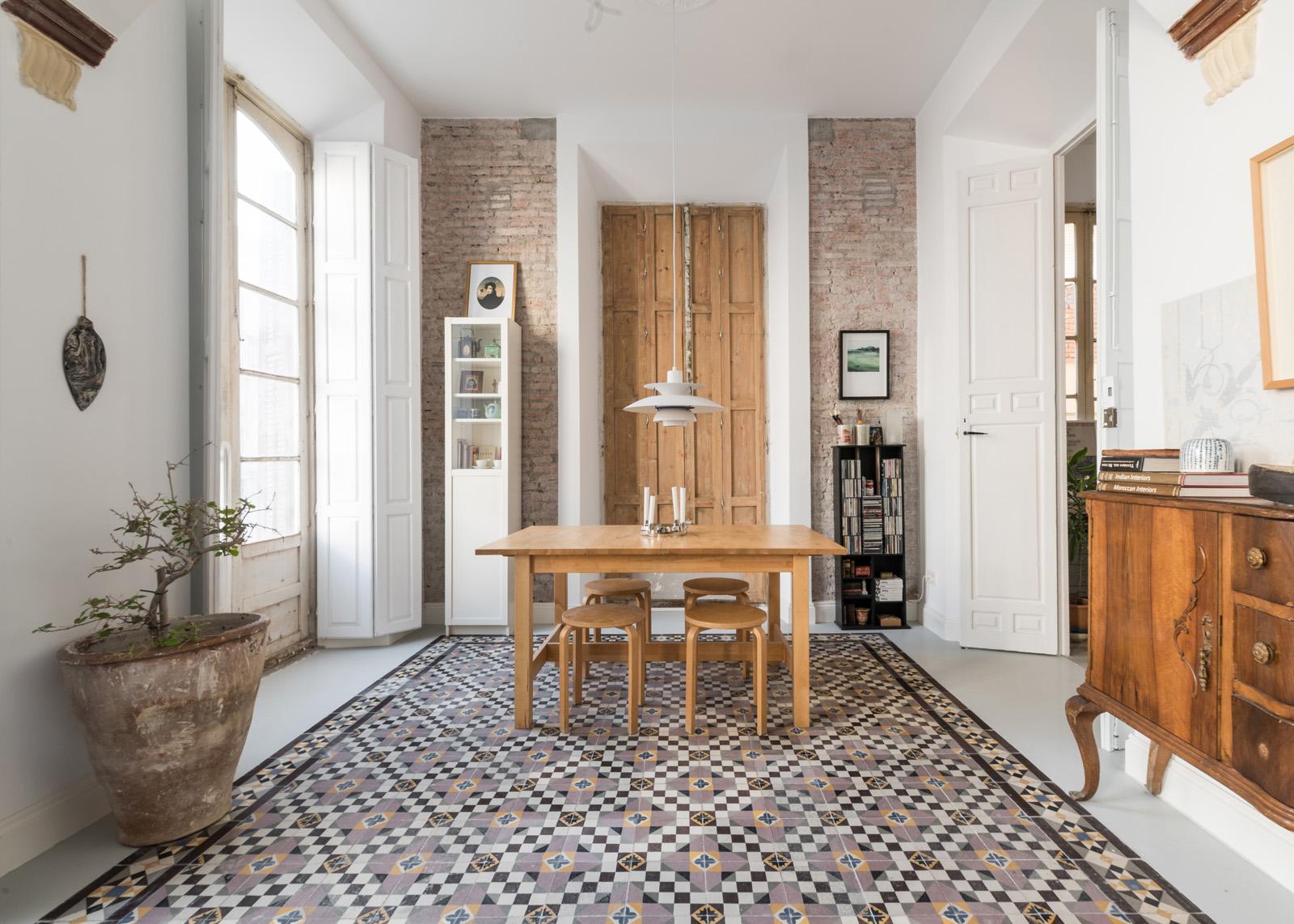 Fotografo de arquitectura e interiores en Málaga. Piso piloto de lujo de inmobiliaria en el centro histórico de Málaga