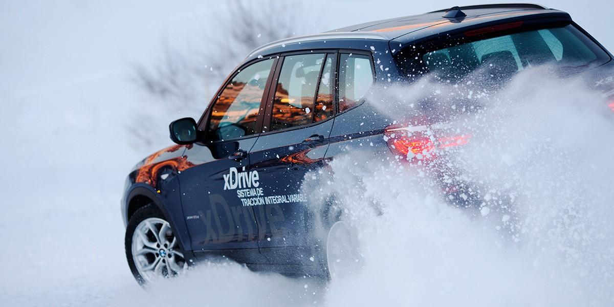 Fotografía publicidad BMW xDrive Sierra Nevada