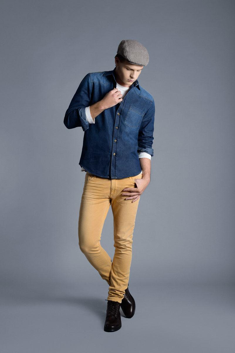 Fotografía lookbook catálogo Caster Jeans AW2015
