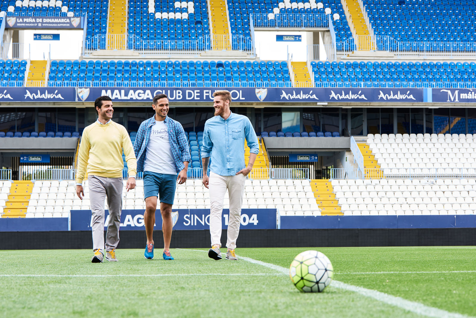 Málaga CF by Makarthy // ESTUDIO MIERTERAN