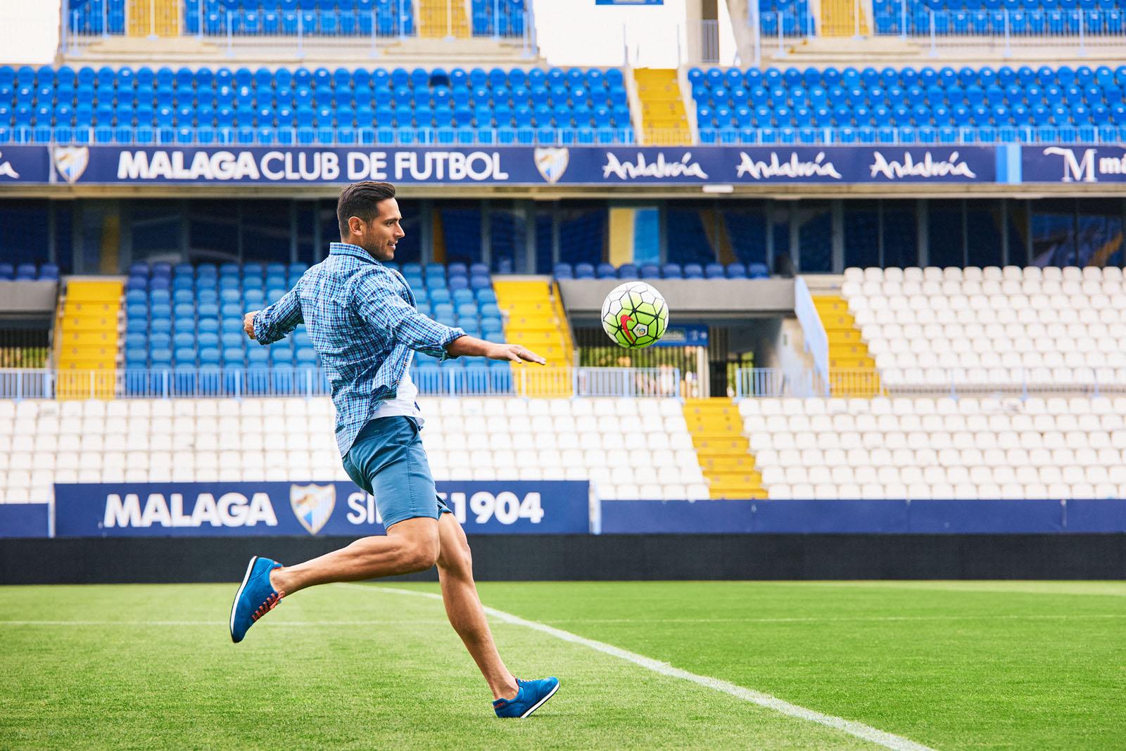 Fotografía para Makarthy, patrocinador del Málaga C.F.