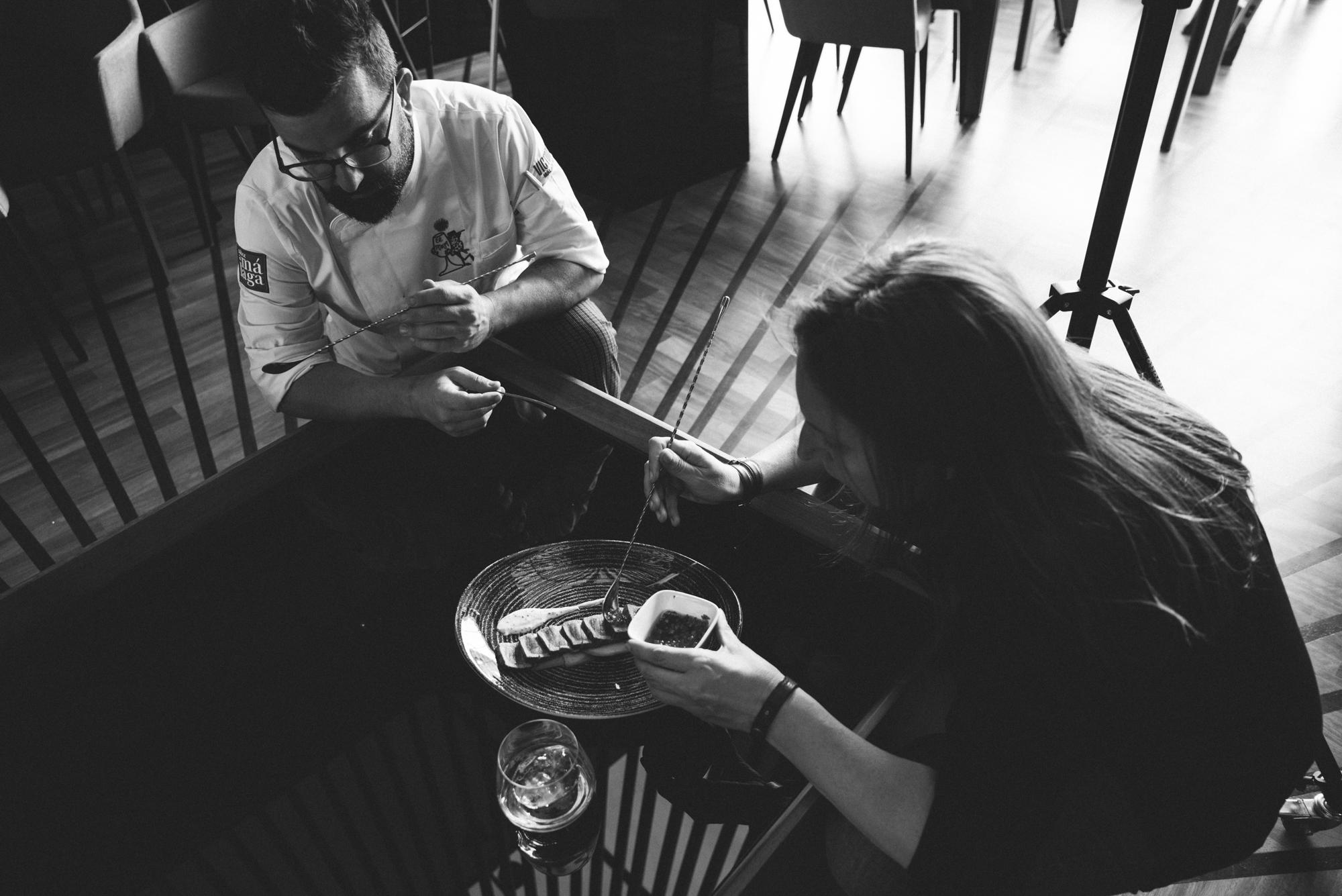 Fotografía gastronomica La SOLE del Pimpi // ESTUDIO MIERTERAN
