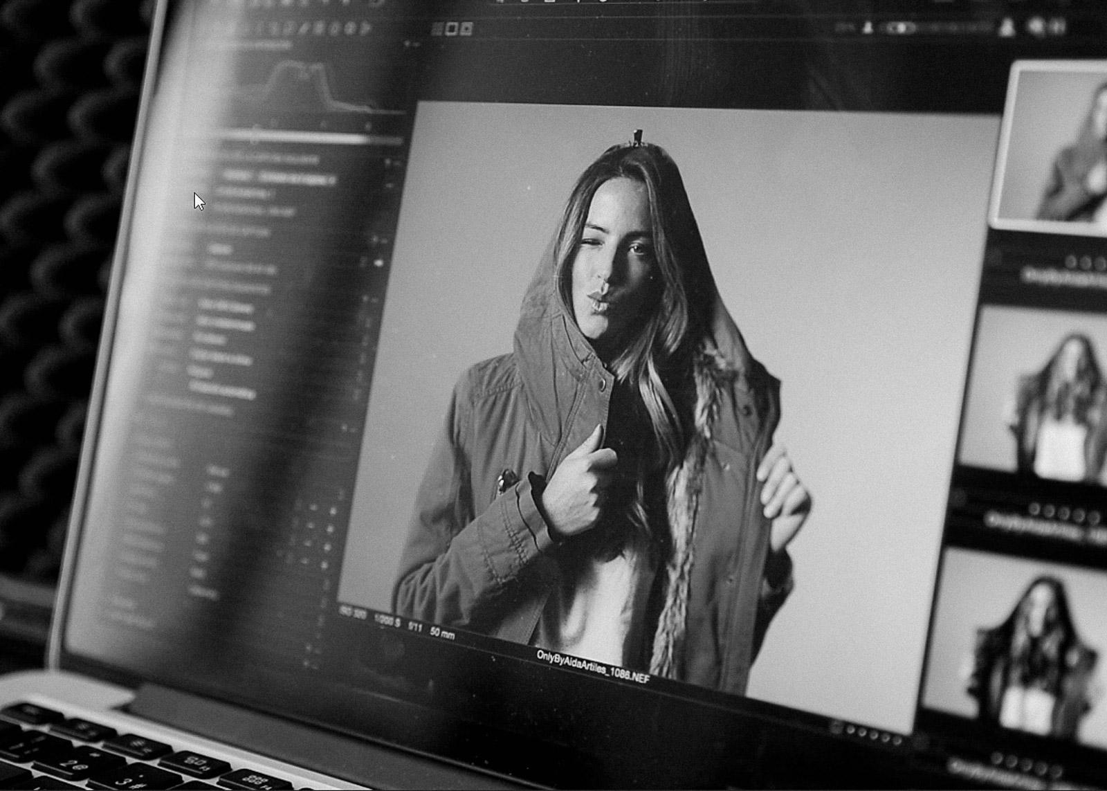 Fotografo moda makong off ONLY by Aida Artiles AW 2016