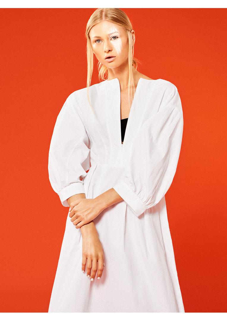Fotografia de moda editorial Tangelo para Koss Magazine