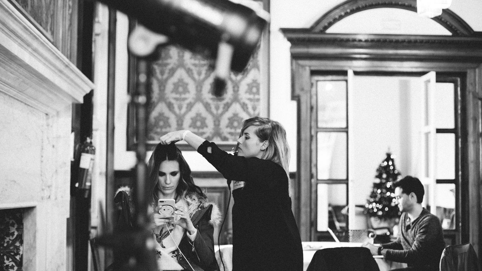 Making of campaña SS17 de la firma PIECES con la actriz Vanesa Romero