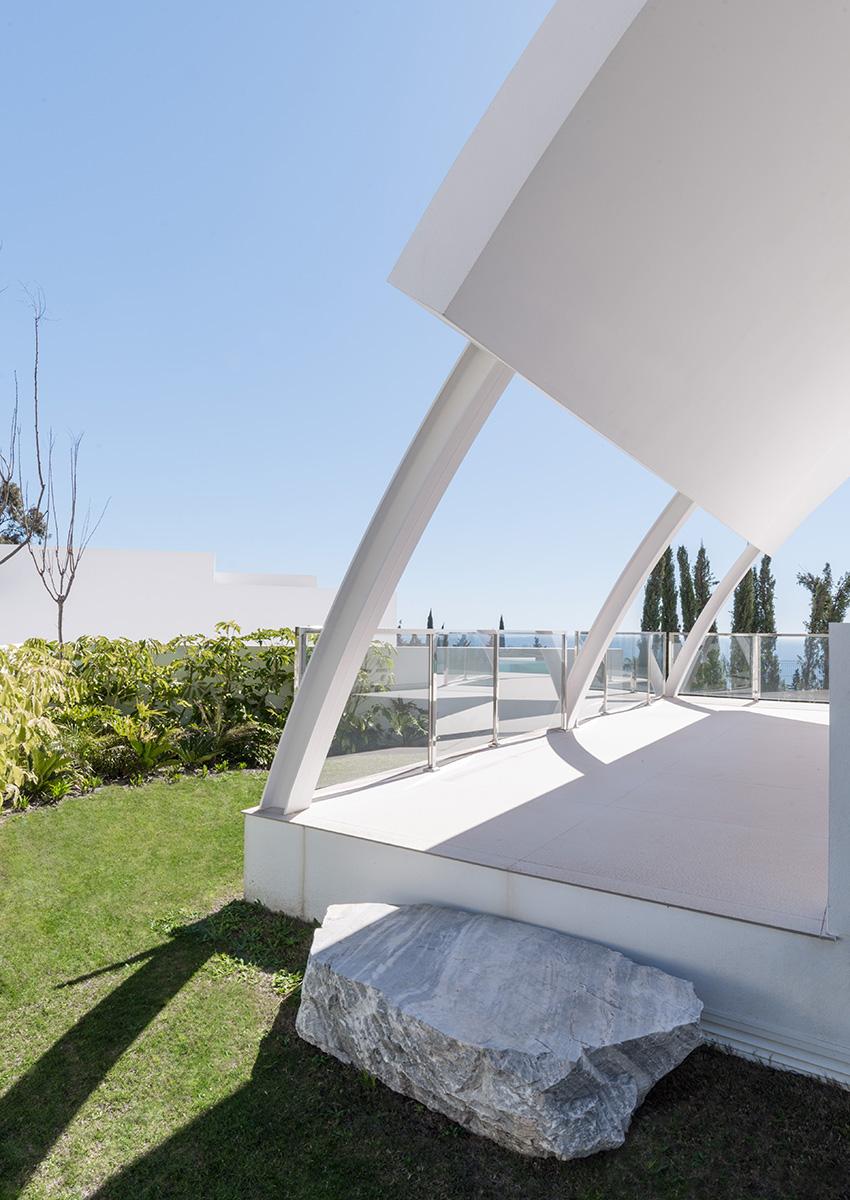 Fotografía de aquitectura e interiores para la constructora Bilba en el Higerón, Málaga.