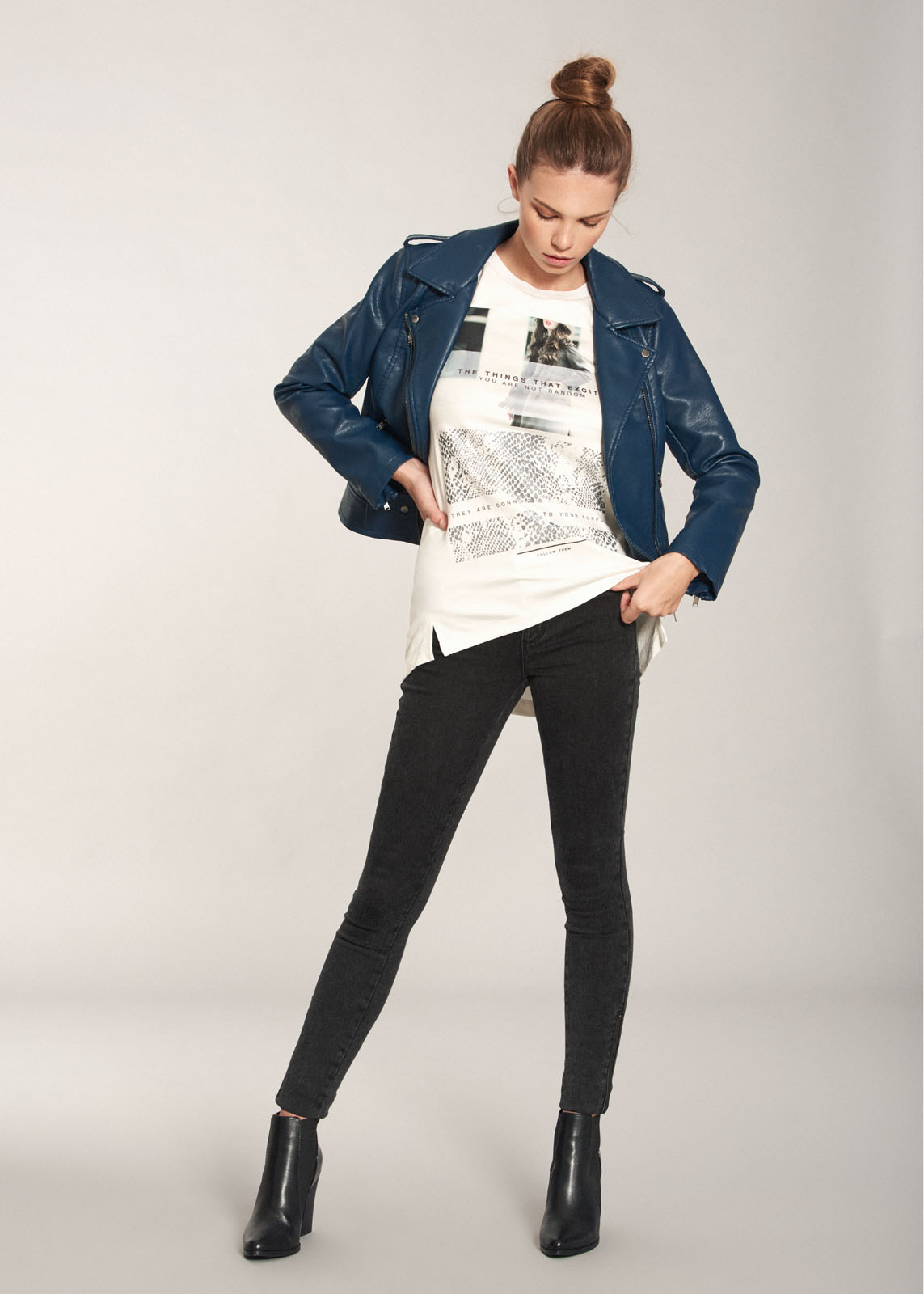 Fotografía de moda de la firma ONLY para el avance otoño-invierno 2018 de la colección para El Corte Inglés
