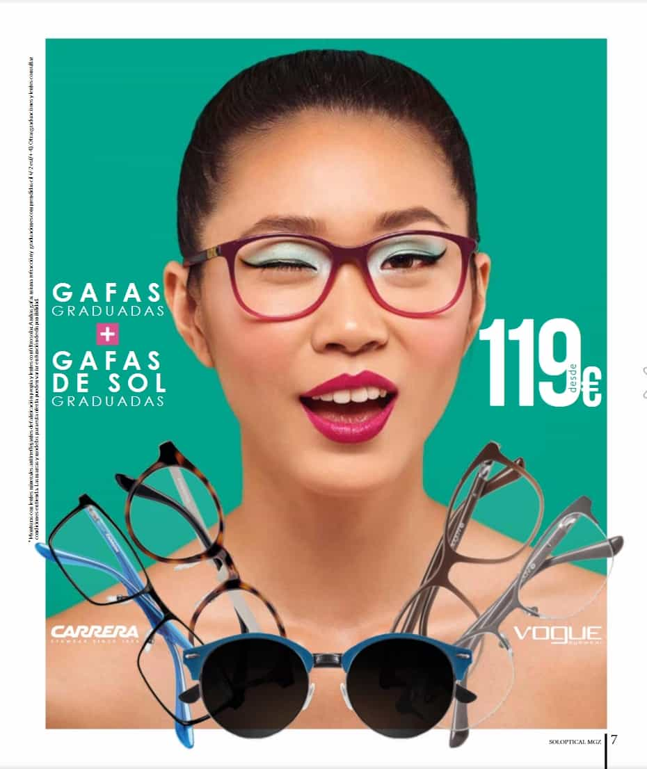 Captura de pantalla del Fotografía de publicidad para catálogo de verano de la cadena de ópticas Soloptical y Solvisión