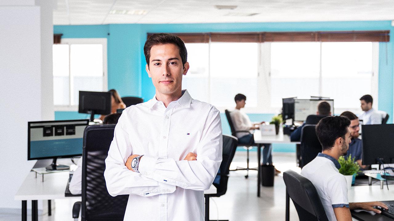 Fotografo profesional para reportaje de empresas y retratos corporativos en málaga