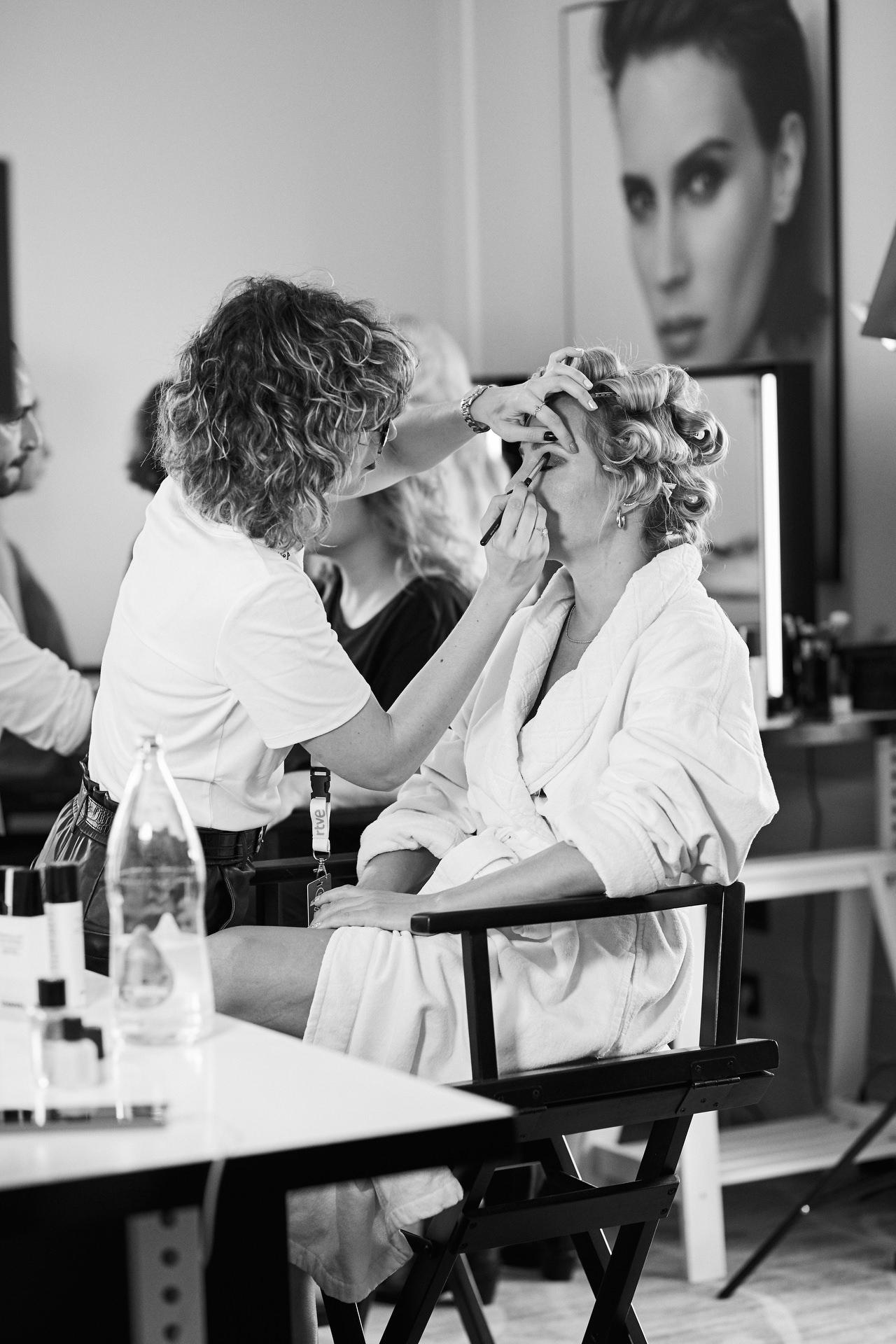 Fotografía de Belleza para Chanel Beauty en el Festival de Cine de San Sebastian